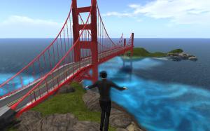 Liebling, ich hab die Golden-Gate-Bridge hingepflanzt!
