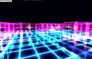 Unser Tron-Pacman Level